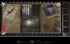 Escape the Prison Room Level2 broken door