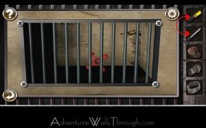 Escape the Prison Room Level2 screwdriver