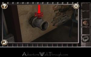 Escape the Prison Room Level2 turn handle