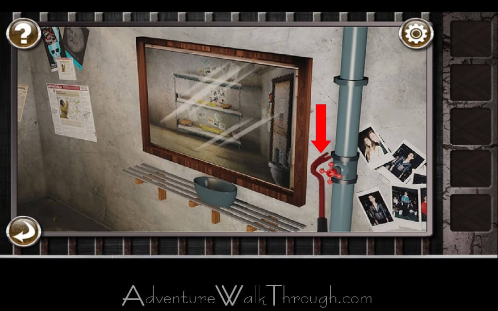 Escape the Prison Room is a room-escape game for iOS and Android devices. The goal is to break out of each jail room to escape the prison by solving mini puzzles, discovering hidden objects and using them in the room to proceed to the next level.