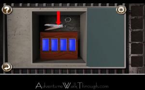 Escape the Prison Room Level3 scissors