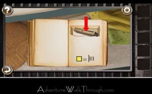 Escape the Prison Room Level3 scroll