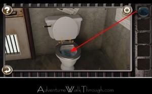 Escape the Prison Room Level3 toilet