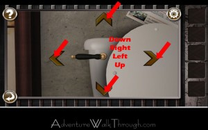 Escape the Prison Room Level3 toilet handle