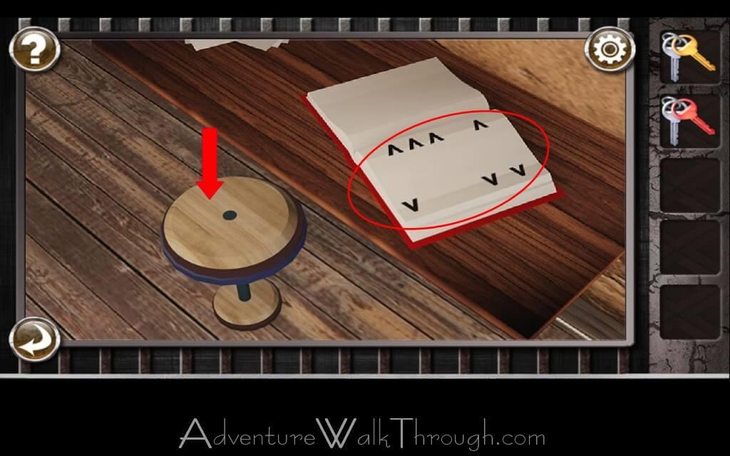 Escape the prison room level 4 for Small room escape 6 walkthrough