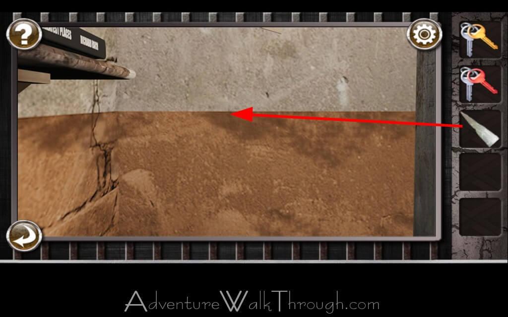 Escape the prison room level 4 for Small room escape 9 walkthrough
