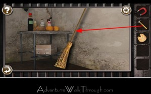 Escape the Prison Room Level5 broom handle