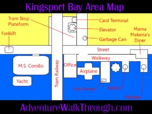 The Journey Down Ch1 Kingsport Bay Area Map