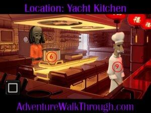 The Journey Down Ch1 Part3 Yacht Kitchen