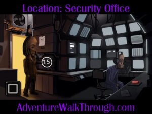 The Journey Down Ch2 Part8 security office