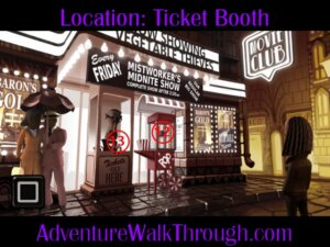 The Journey Down Ch2 Part8 ticket booth